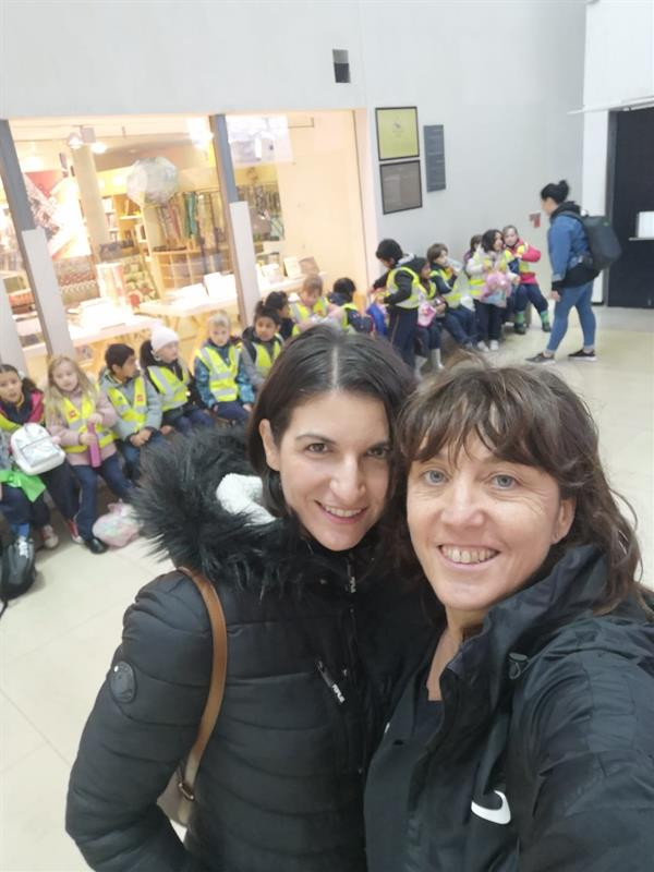Ms Duignan's 2nd Class visited the National Gallery