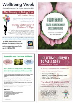 Wellness Week in Rosemount family Resource Centre