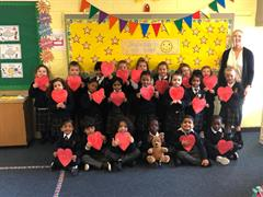 A big Céad Míle Fáilte to our new Junior Infants Class