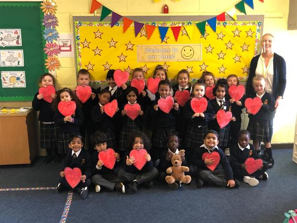 Our first month in Junior Infants!