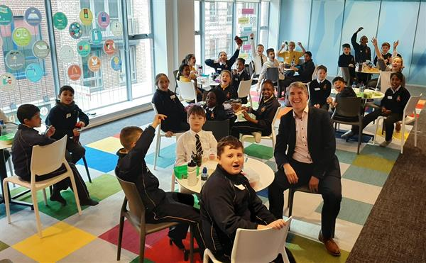 4th Class visited the Ombudsman for Children