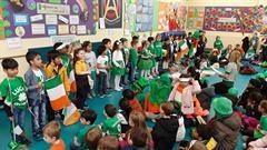 An Seó leis na ranganna sóisearacha- Seachtain na Gaeilge
