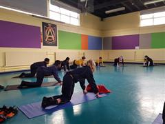 Yoga classes for 5th and 6th