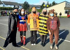 Parade Time At Halloween