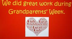 Great work being done during Grandparents Week