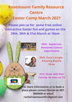 Easter Camp March 2021